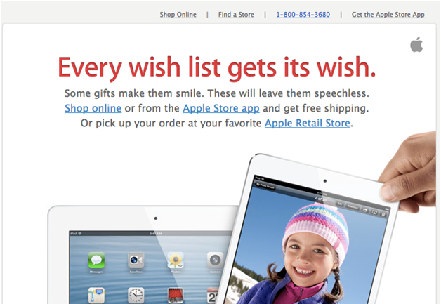 Apple Email Marketing Campaign