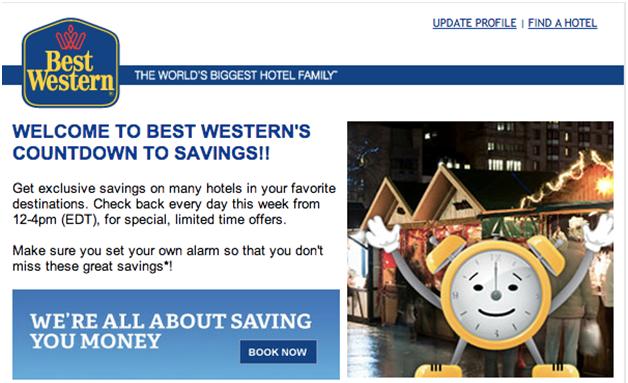 Best Western Marketing Campaign