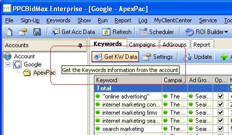 Get Keyword Data pic