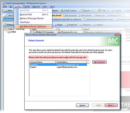 Mail Communicator - Direct Email Marketing Software to Send